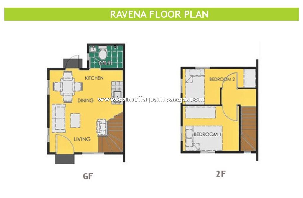 Ravena  House for Sale in Pampanga