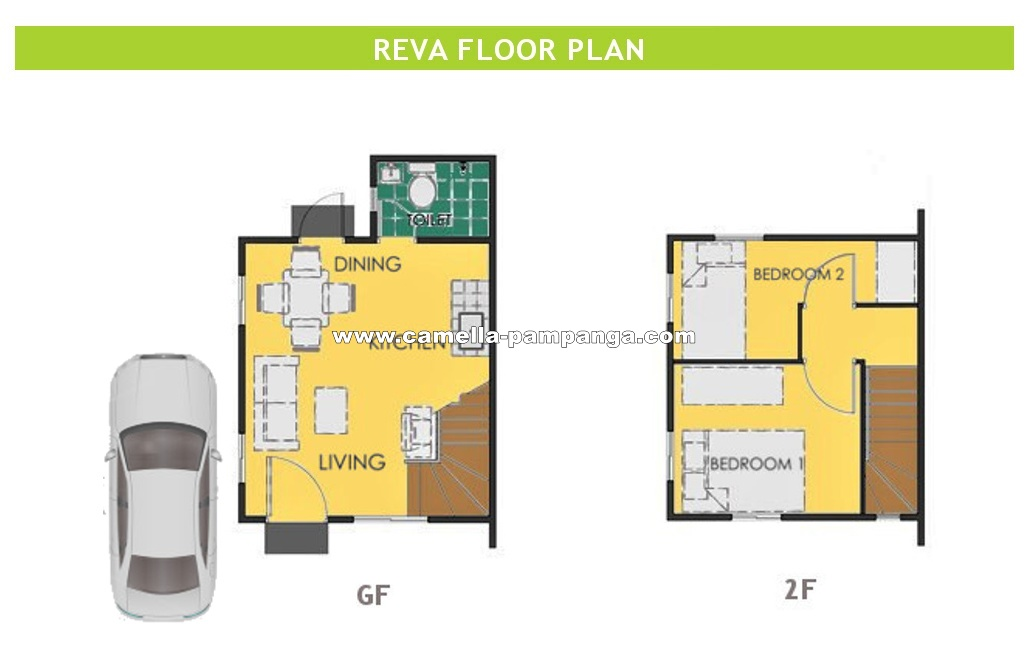 Reva  House for Sale in Pampanga