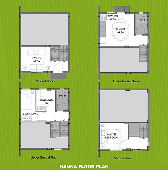 Hanna Floor Plan House and Lot in Pampanga