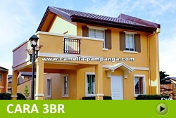 Cara House and Lot for Sale in Pampanga Philippines
