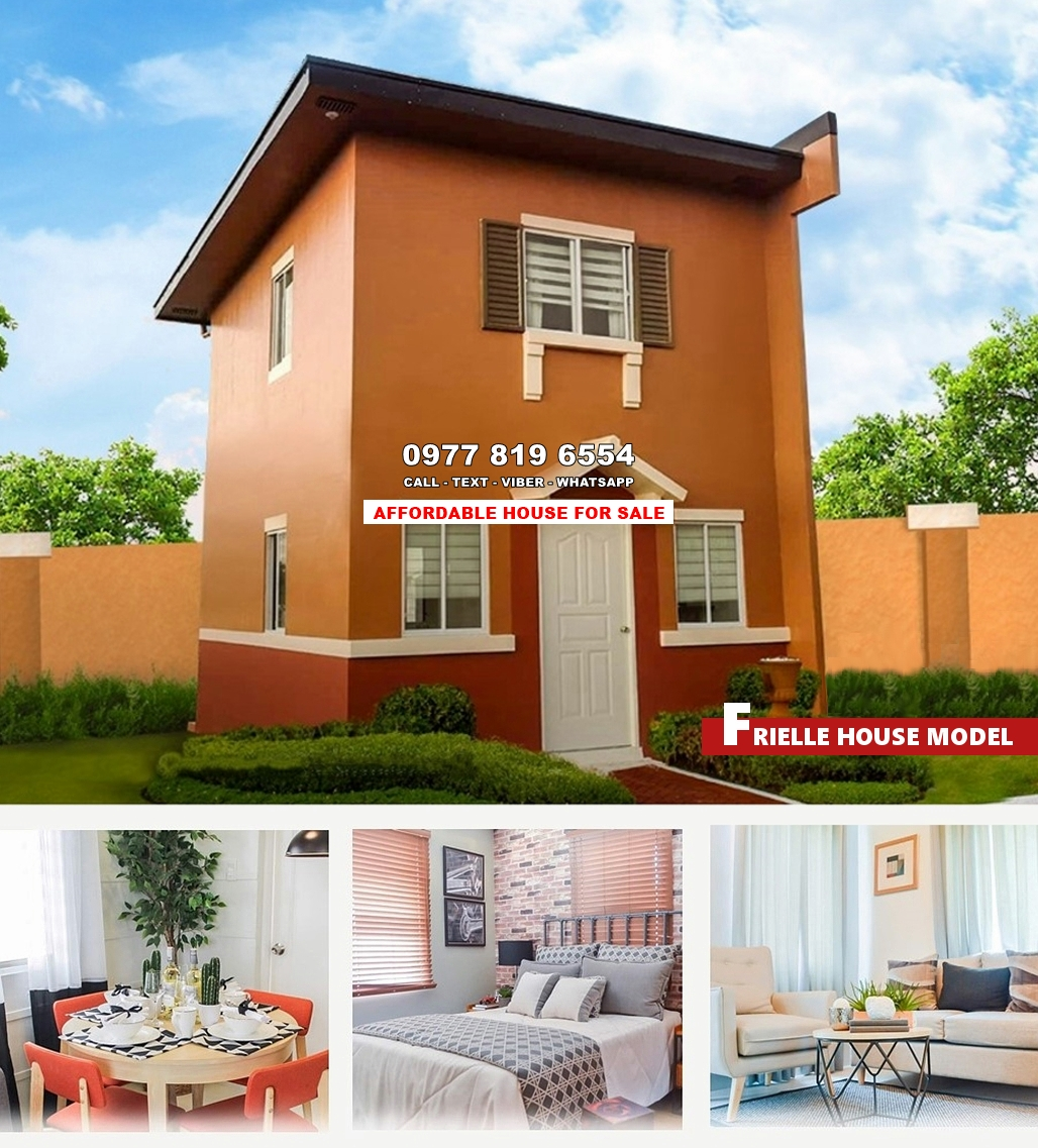 Frielle House for Sale in Pampanga
