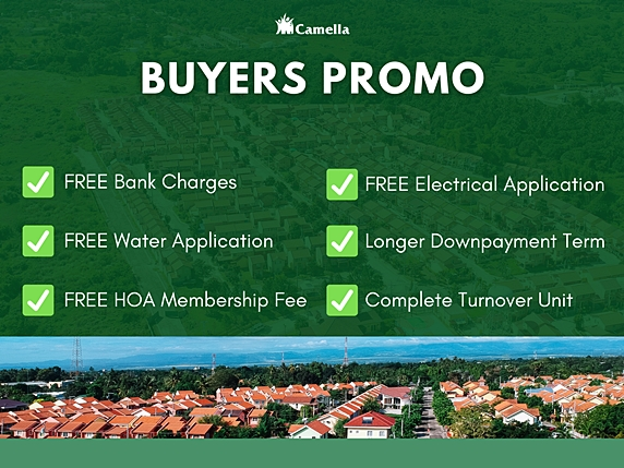 Promo for Camella Pampanga.
