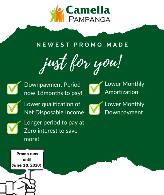 Promo for Camella Pampanga.