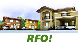RFO Units for Sale in Camella Pampanga.
